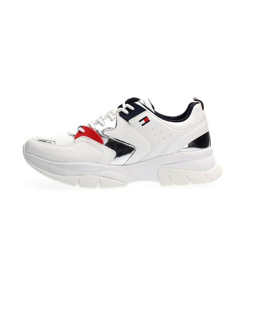 Tommy Hilfiger 30821 Sneakers in het White