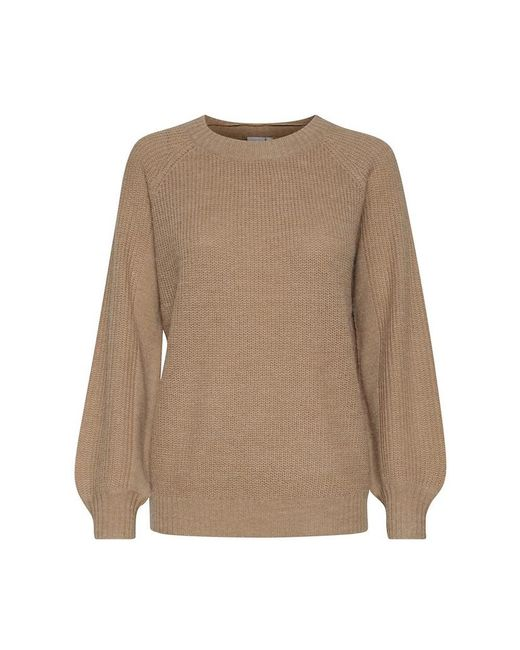 Ichi Sweater in het Brown