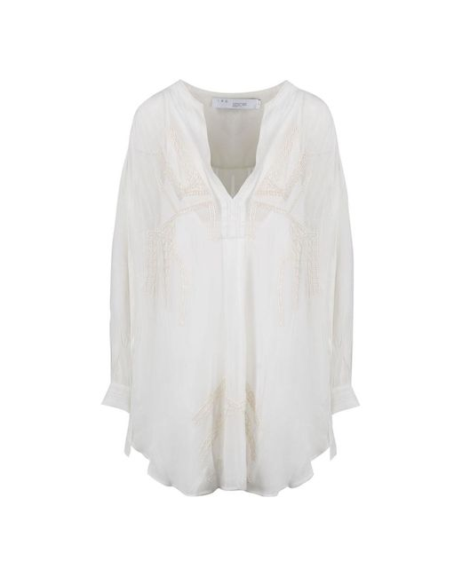 IRO Plink Dress in het White