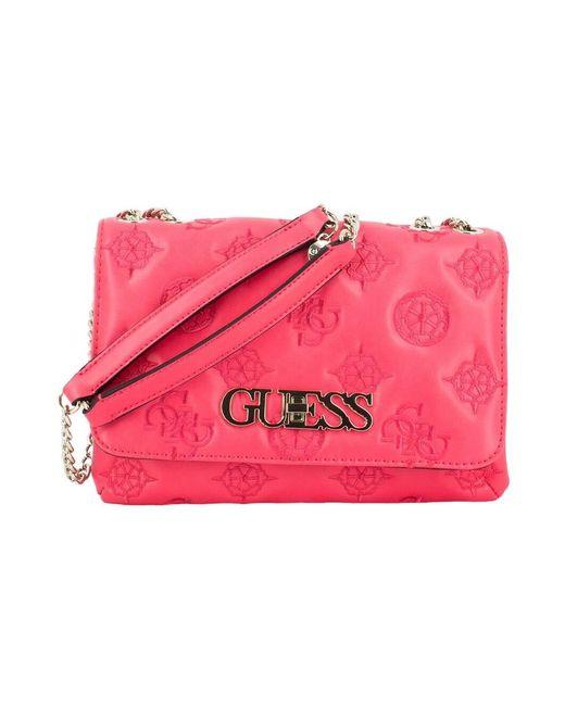 Guess Chic Handbag in het Red