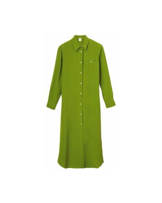 Aspesi Green Abito Chemisier dress