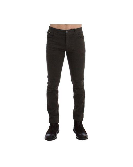CoSTUME NATIONAL Stretch Denim Jeans in het Green voor heren