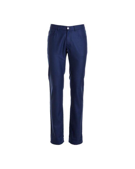 Brioni 5 Pocket Pants in het Blue voor heren