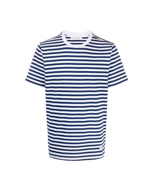 Department 5 Gars T-shirt in het White voor heren