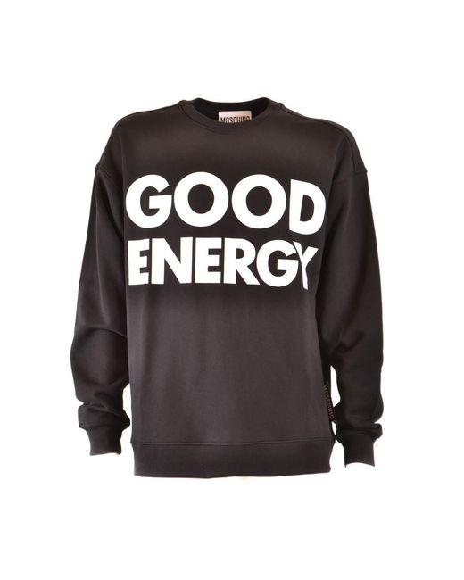 Moschino Sweater in het Black voor heren