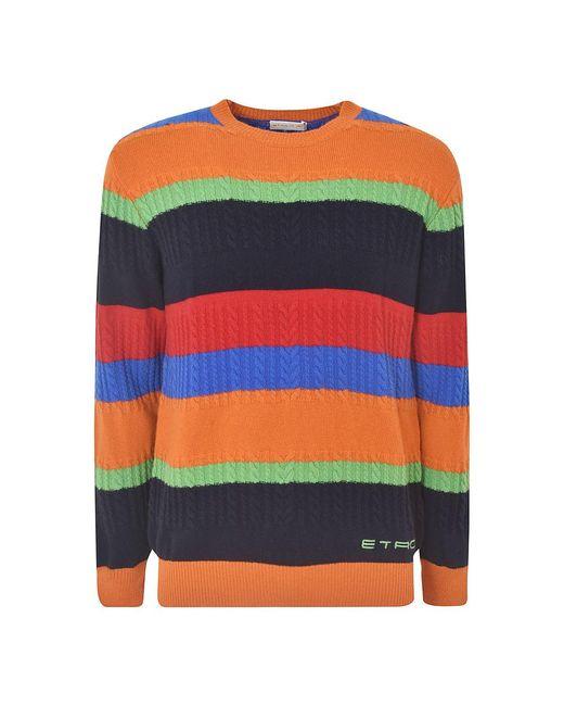 Etro Sweater in het Orange voor heren