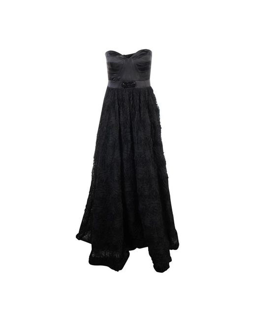 Adrianna Papell Sweet Heart Ball Gown in het Black