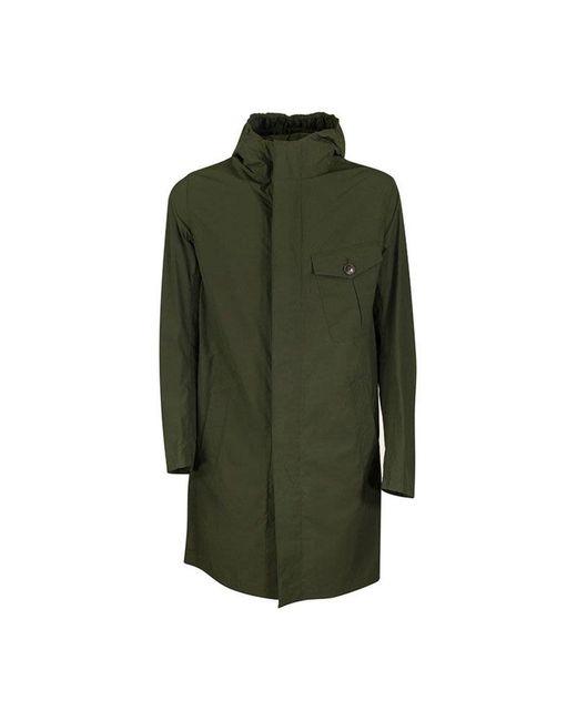 Veste de longueur moyenne Herno pour homme en coloris Green