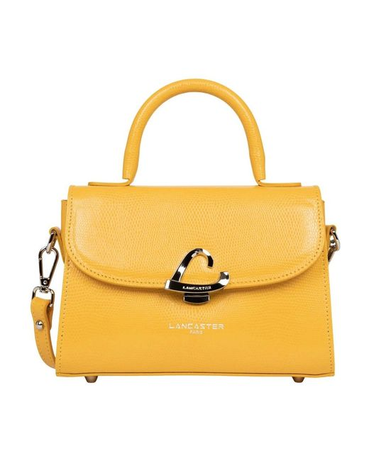 Handbag di Lancaster in Orange