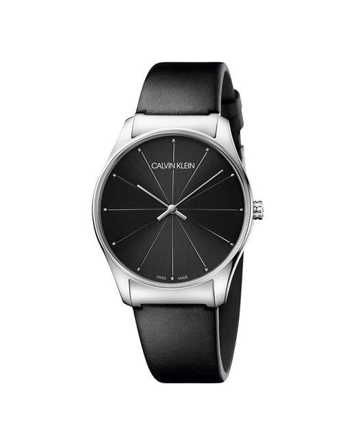 Calvin Klein Watch K4d211cy in het Black voor heren