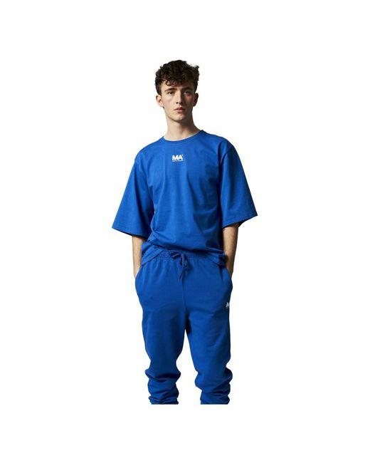 Martin Asbjorn M.a. Tee T-shirt in het Blue voor heren