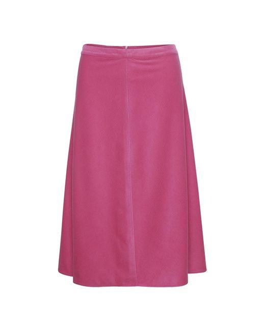 Soaked In Luxury Ilia Skirt in het Pink