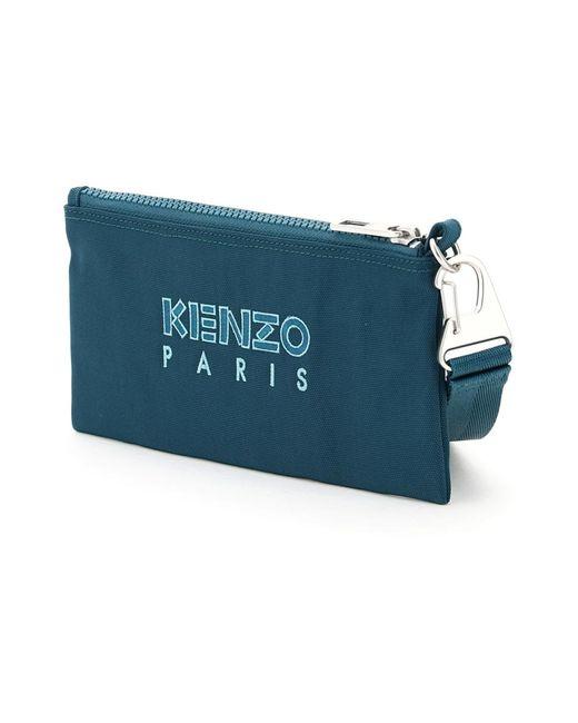 KENZO Wallet in het Blue voor heren