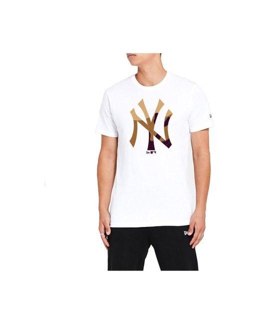 KTZ Camiseta New York Yankees in het White voor heren