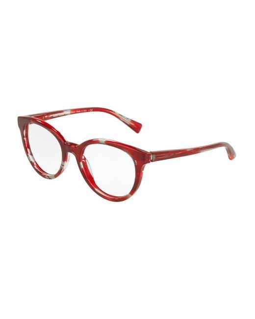 Alain Mikli Glasses 3070 in het Red