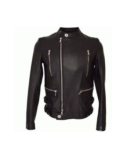 Balmain Biker Jacket in het Black