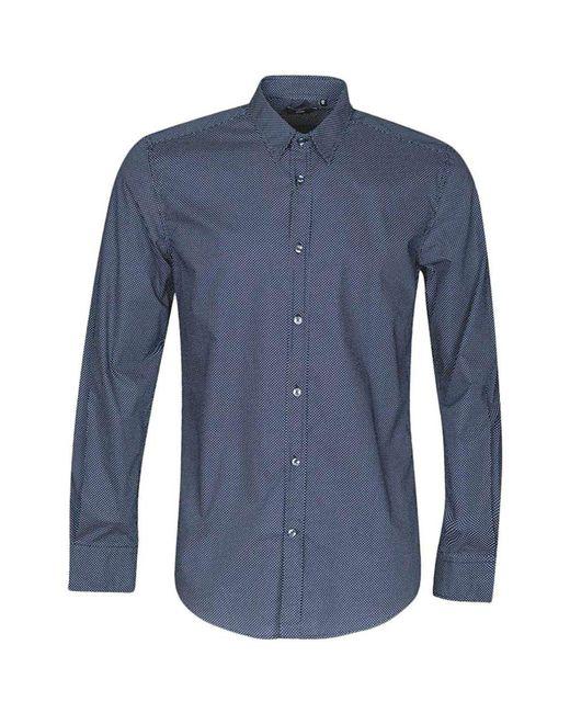 Shirt di Antony Morato in Blue da Uomo
