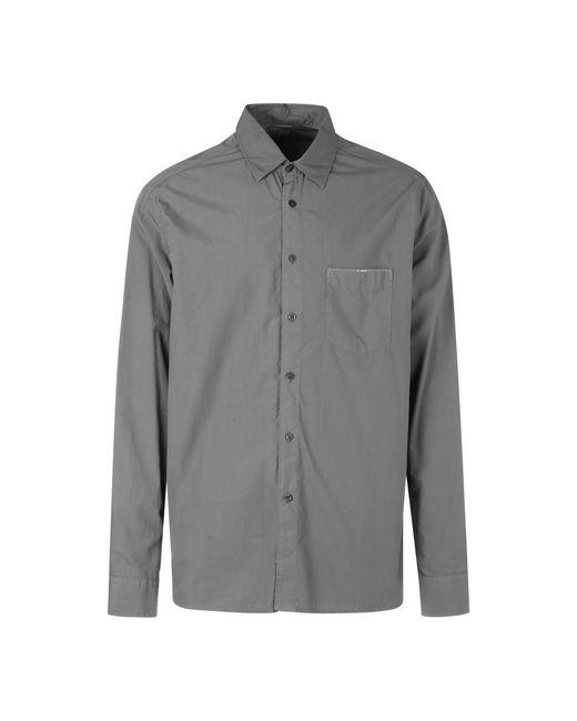 Camicia Classica di C P Company in Gray da Uomo
