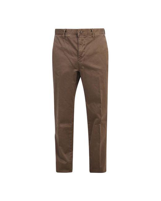 Incotex Stretch Trousers in het Brown voor heren