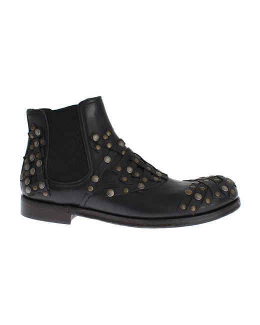Dolce & Gabbana Boots in het Black voor heren