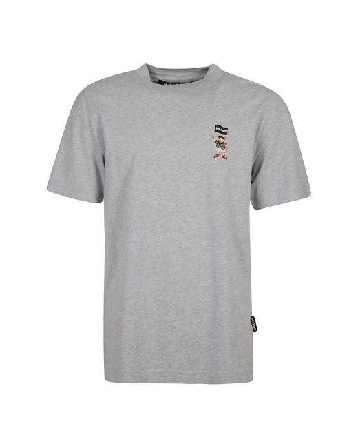Palm Angels Small Pirate Bear Classic TEE in Gray für Herren