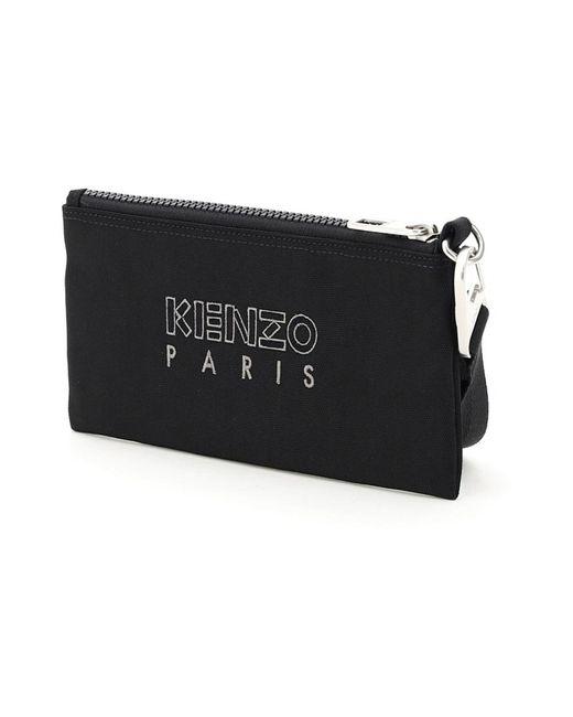 KENZO Wallet in het Black voor heren
