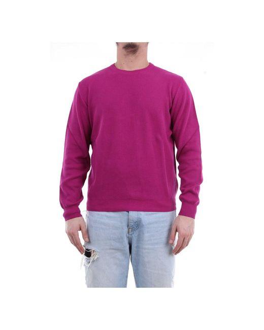 Heritage Ml0147g18 Crewneck in het Pink voor heren
