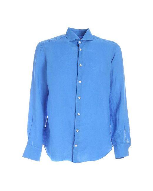 Mc2 Saint Barth Shirt in het Blue voor heren