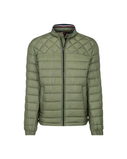 Tommy Hilfiger Down Jacket in het Green voor heren
