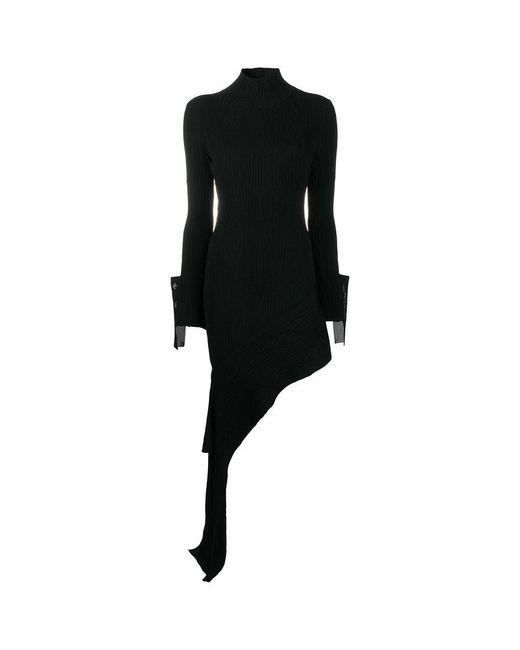 Off-White c/o Virgil Abloh Black Blend Dress