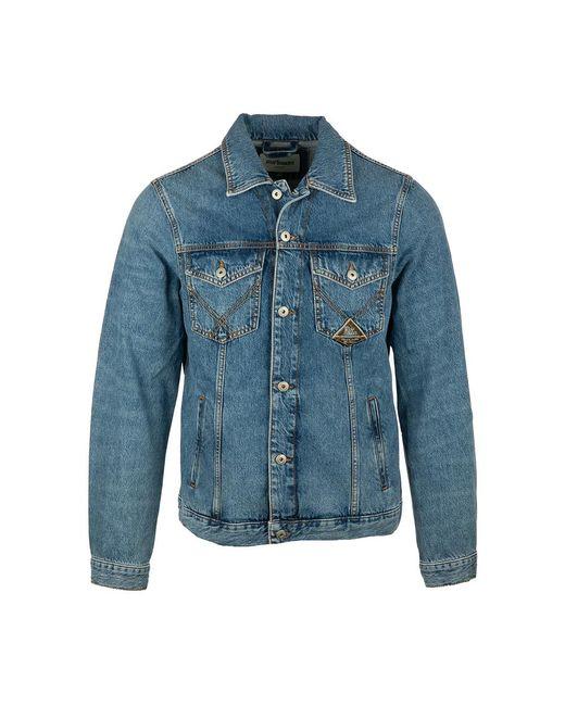 Roy Rogers Coat in het Blue voor heren