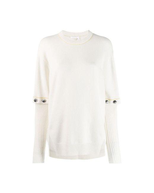 Chloé Pullover in het White