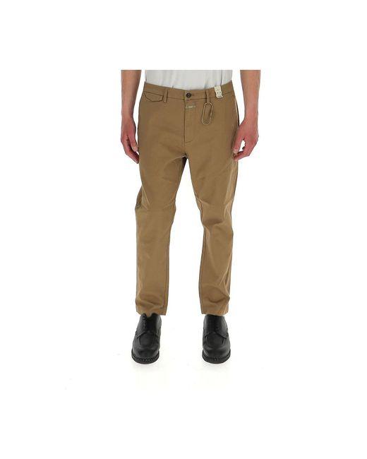 Closed Trousers in het Brown voor heren