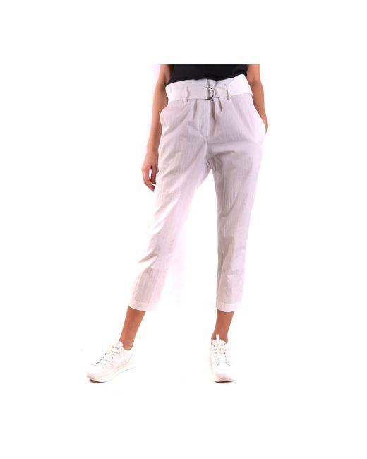 Trousers di Brunello Cucinelli in White