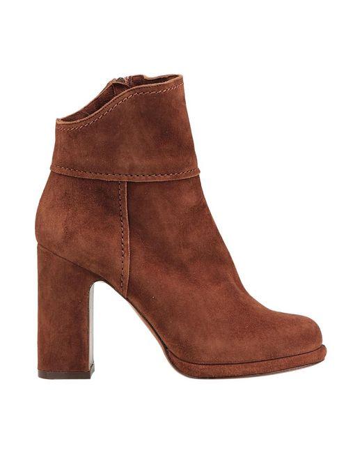 L'Autre Chose Boots in het Brown