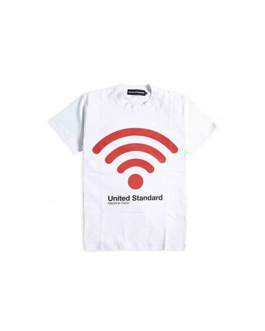 United Standard Camiseta in het White voor heren