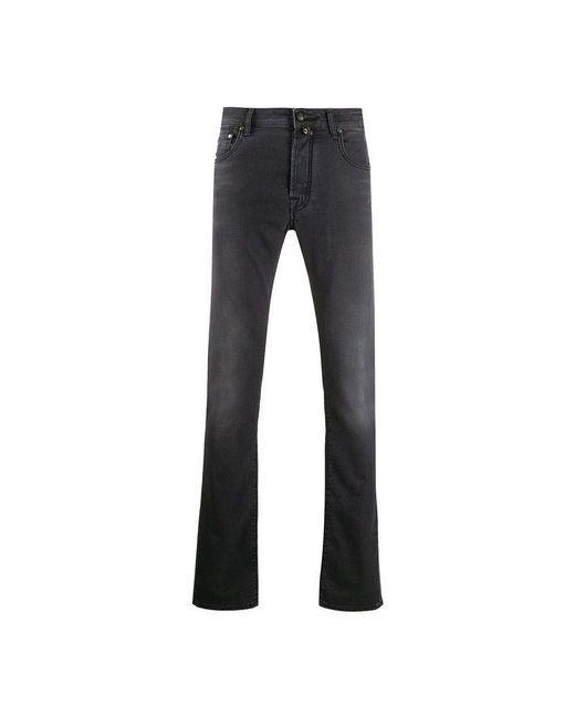 Jacob Cohen 5p Comfort Jeans in het Black voor heren