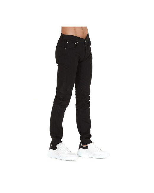 Pantalones Negro Alexander McQueen de color Black