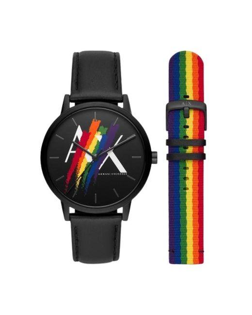 Armani Exchange Watch Ax7120 in het Black voor heren