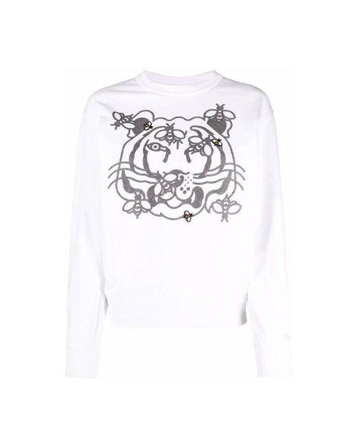 KENZO Sweater in het White