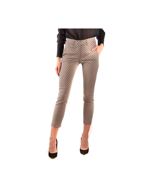 Trousers di Dondup in White