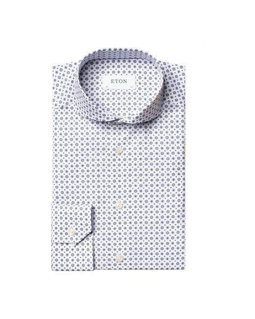 Eton of Sweden Slimfit Overhemd in het Blue voor heren