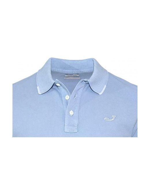 Polo shirt Azul Heritage de hombre de color Blue