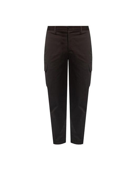 Neil Barrett Pleat-front Trousers in het Black voor heren