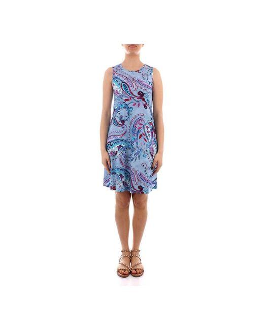 Desigual 21swvkaq Dress in het Blue