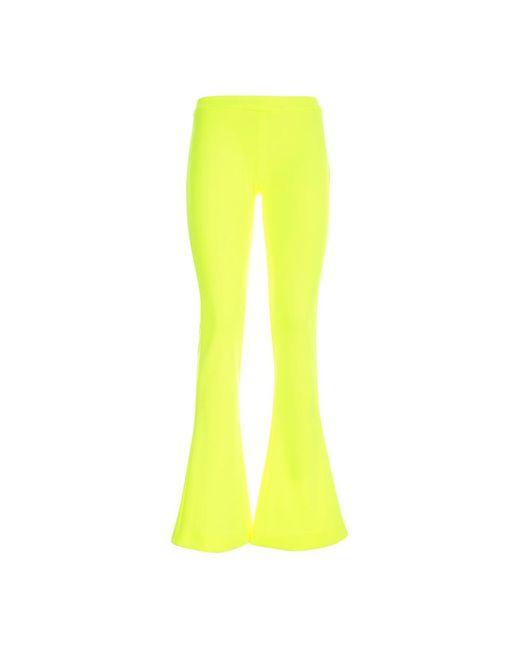 Balmain Trousers in het Yellow
