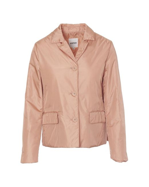 Aspesi Jacket in het Pink