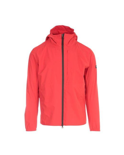 Woolrich Pacific Jacket With Zip in het Red voor heren