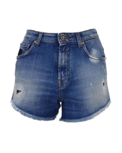 Shorts John Richmond en coloris Blue