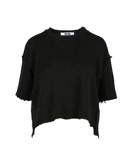 Mauro Grifoni Sweater in het Black